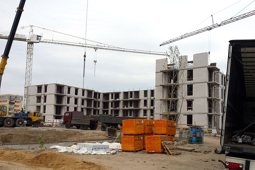 Neue Investition in Poznan - Fenster Ideal 7000