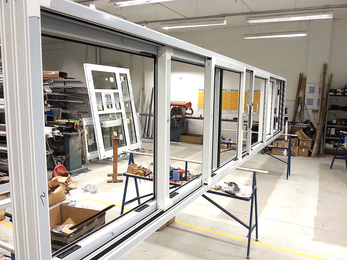 Schiebefenster BLYWEERT aus MIROX Polen
