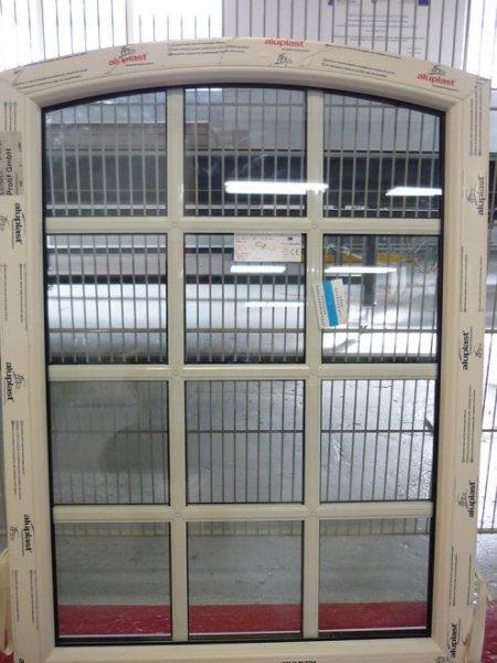 Kunststofffenster anthrazit sprossen  Fenster mit innenliegenden Sprossen im Glas und gleichzeitig mit ...