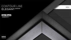 Contour Line Elegant - Jet Black mattCC+